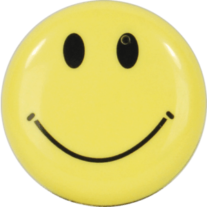 smiley face hidden camera front view